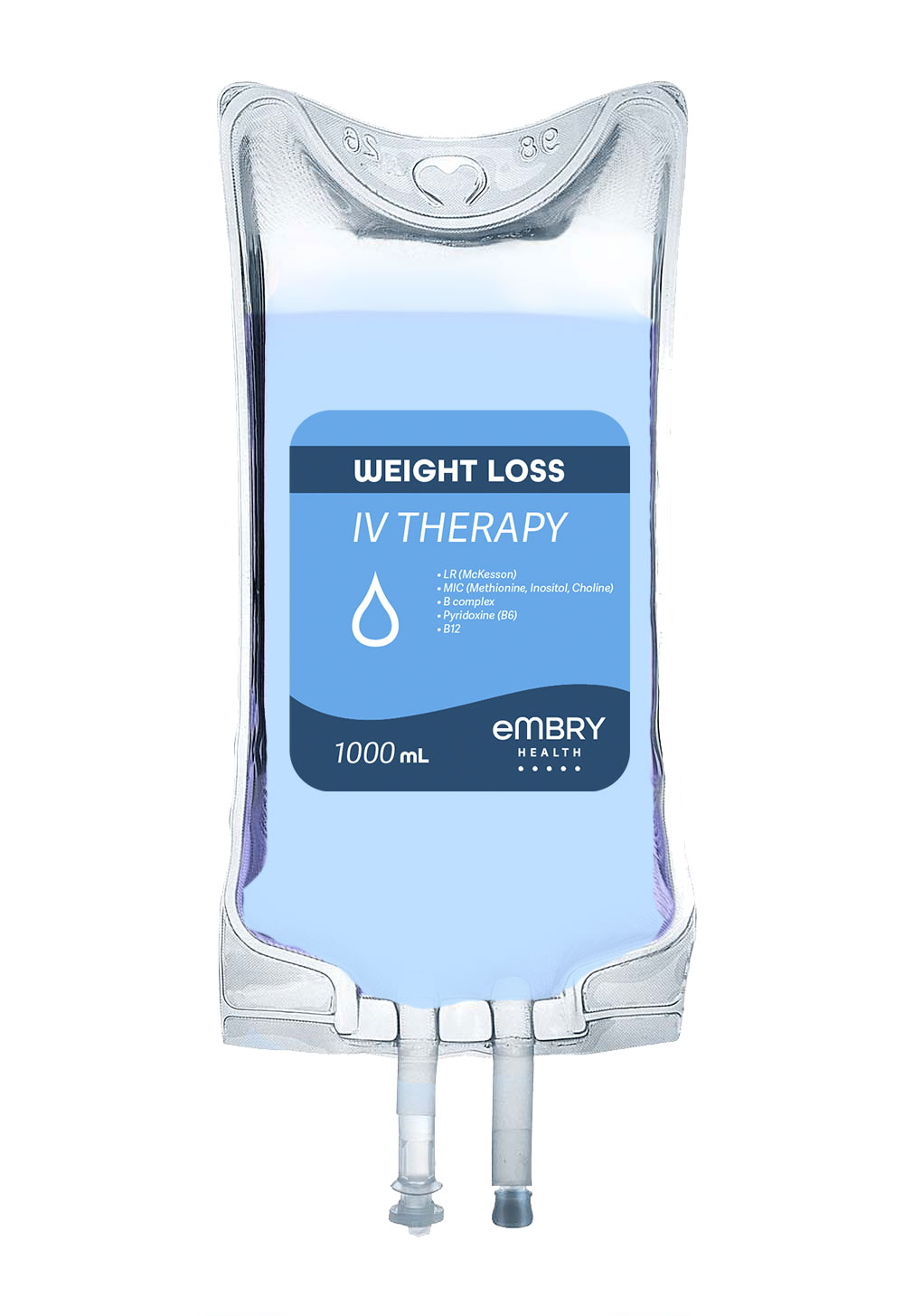 Includes a blend of IV fluids and electrolytes formulated for quick hydration and weight loss leaving you feeling revitalized and refreshed. $200